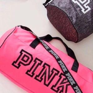 PINK Victoria s Secret Bags - VS PINK gym bag   water bottle 1343dba1f6ece